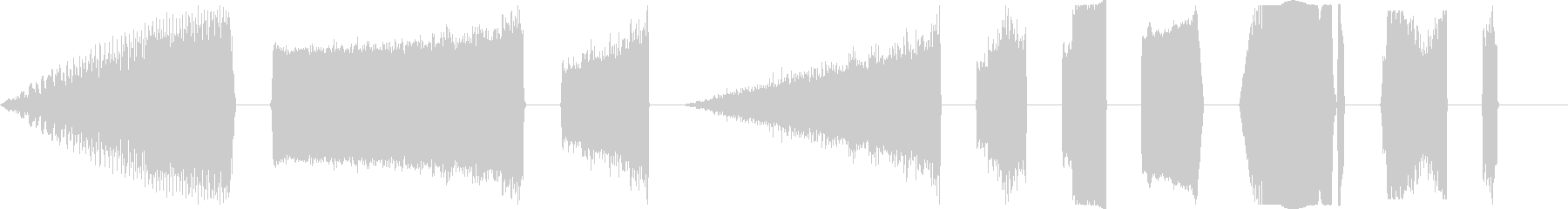 DJ Power Up X10の未再生の波形