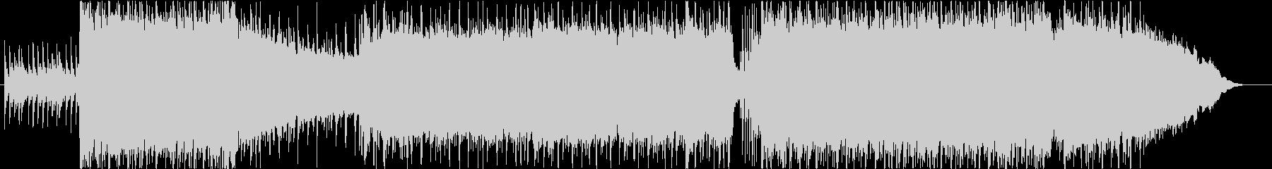 ロックサウンドのBGMです。の未再生の波形
