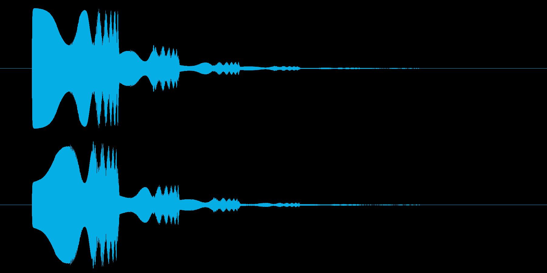 キラポワンの再生済みの波形