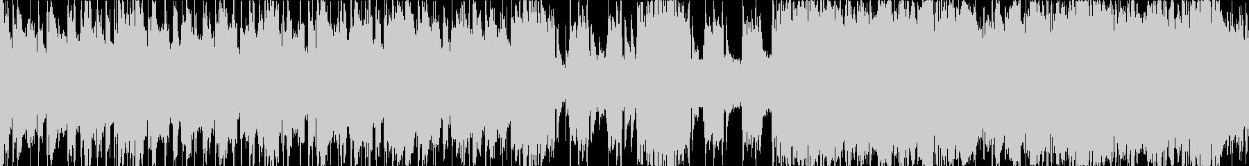 遅くて重いメタルインスト(ループ)の未再生の波形