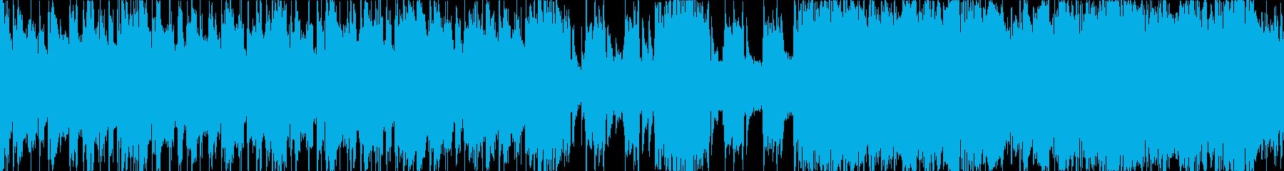遅くて重いメタルインスト(ループ)の再生済みの波形