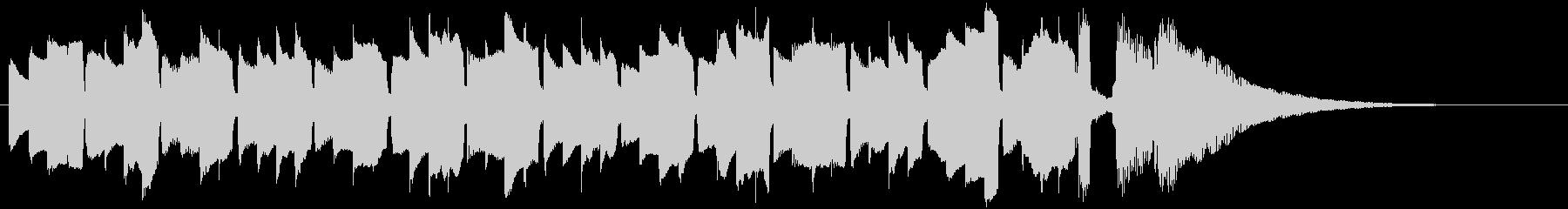 アコギの優しいシンプルアルペジオの未再生の波形
