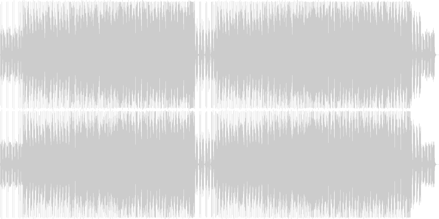 Holliday Rockの未再生の波形