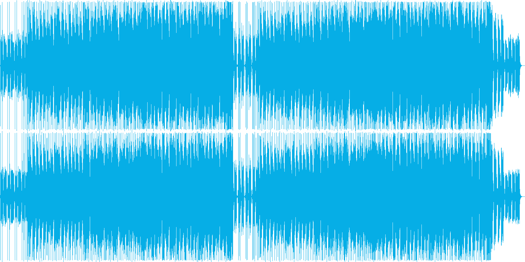 Holliday Rockの再生済みの波形