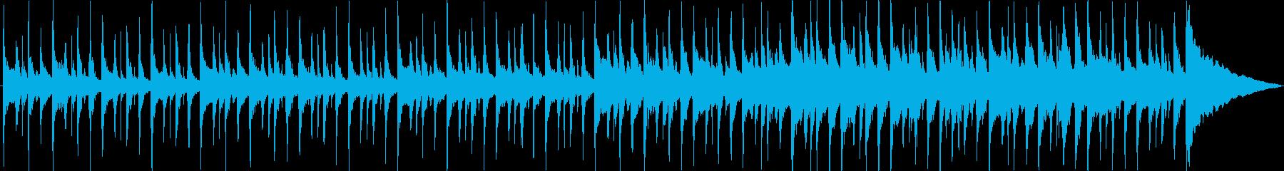 ウクレレ、マンドリン、グロッケンシ...の再生済みの波形