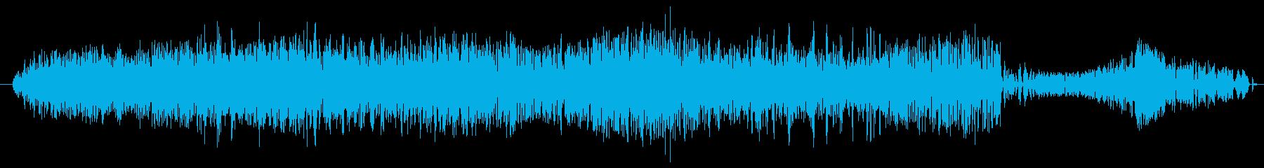 鳴き声 男性の吸うイサキ01の再生済みの波形