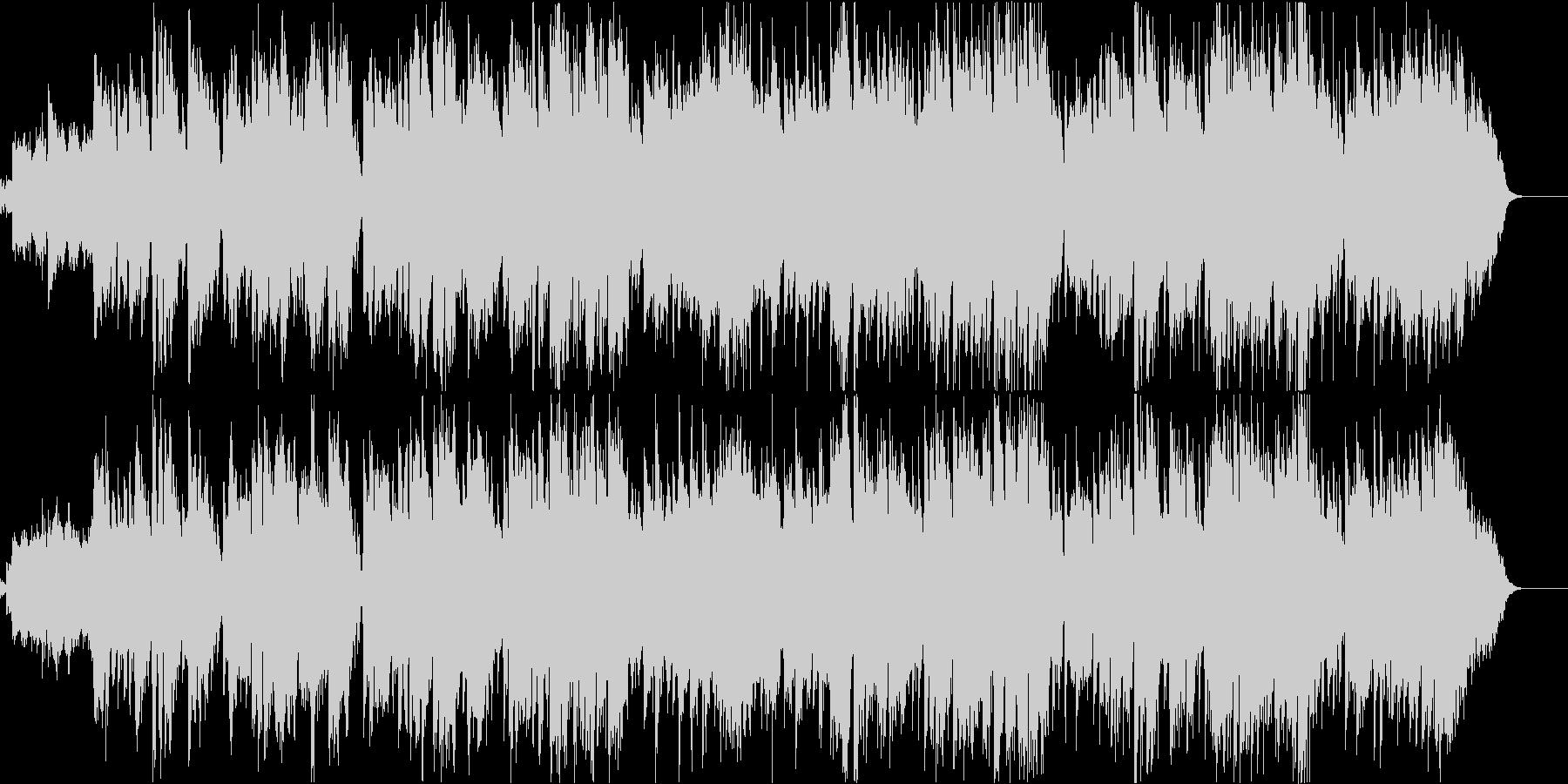 赤とんぼ(透き通った空間が広がる童謡)の未再生の波形