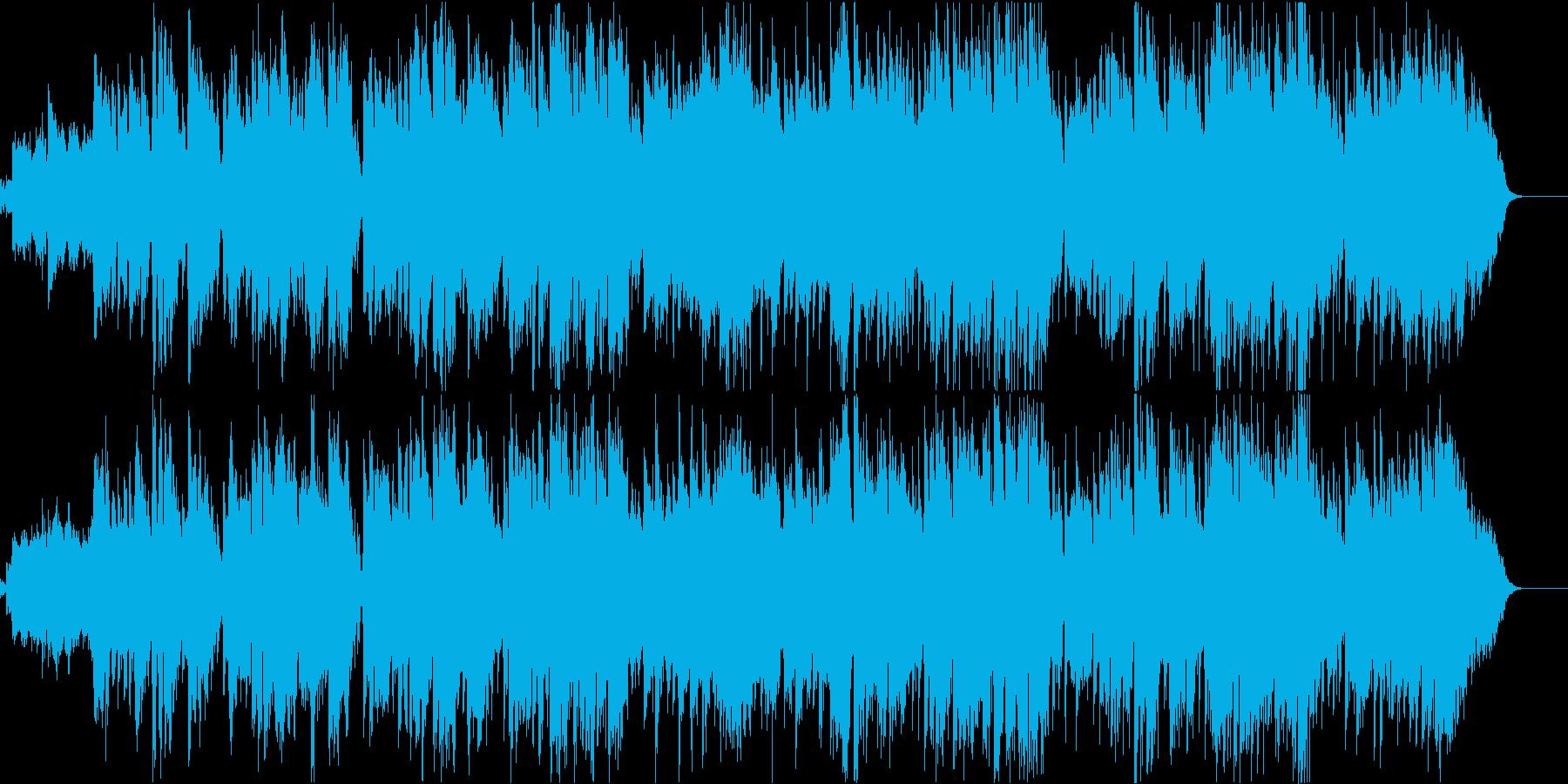 赤とんぼ(透き通った空間が広がる童謡)の再生済みの波形