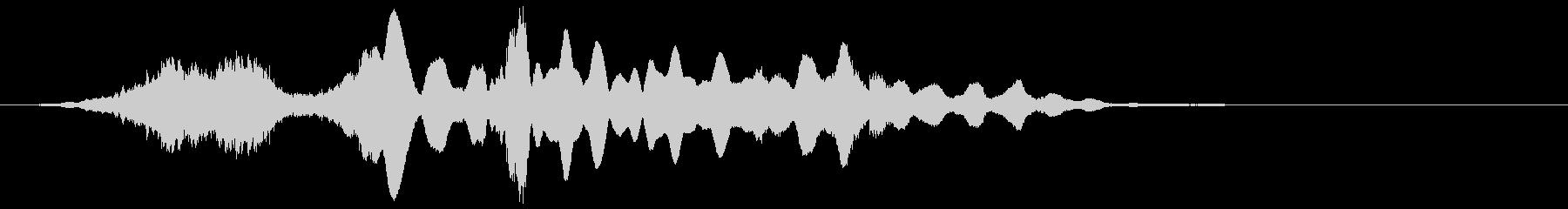 【映画演出】ベル音が印象的_ホラー映像の未再生の波形