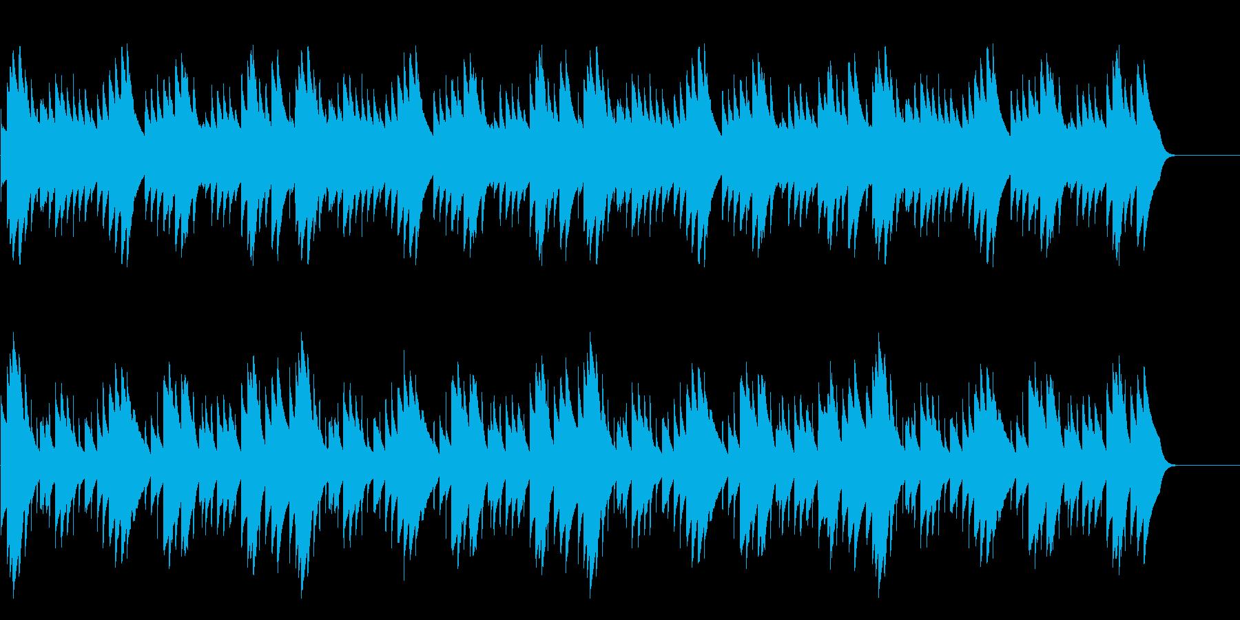 シャボン玉・速い 16bit48kHzの再生済みの波形