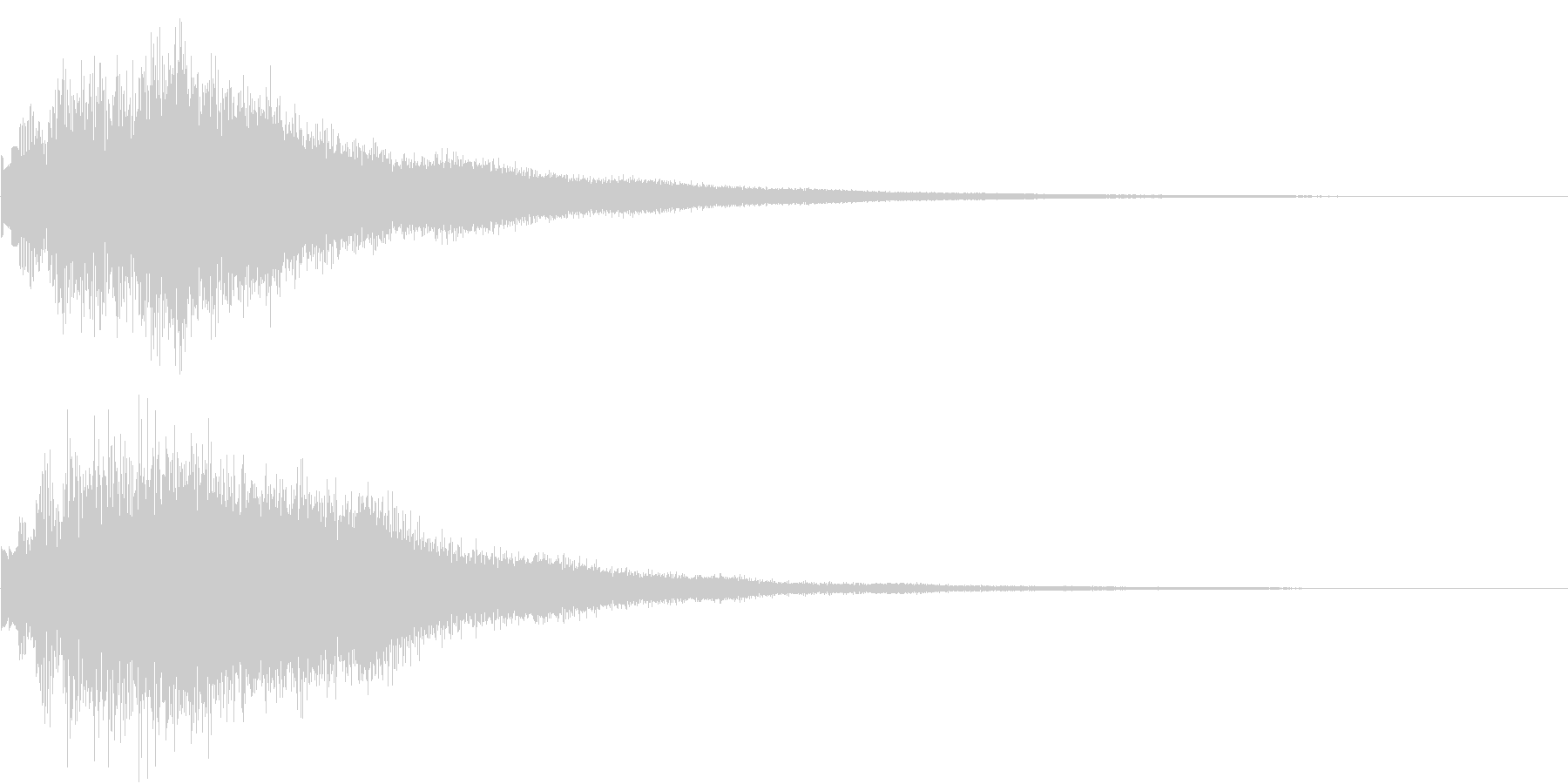 DOREMI ドレミ音階 キラキラFX1の未再生の波形
