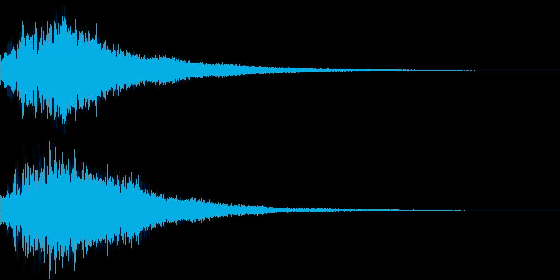 DOREMI ドレミ音階 キラキラFX1の再生済みの波形