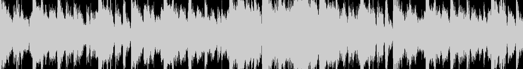 ループ素材:ジャジー/おしゃれの未再生の波形
