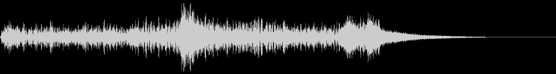 サスペンス~迫りくる恐怖・弦トレモロ~の未再生の波形