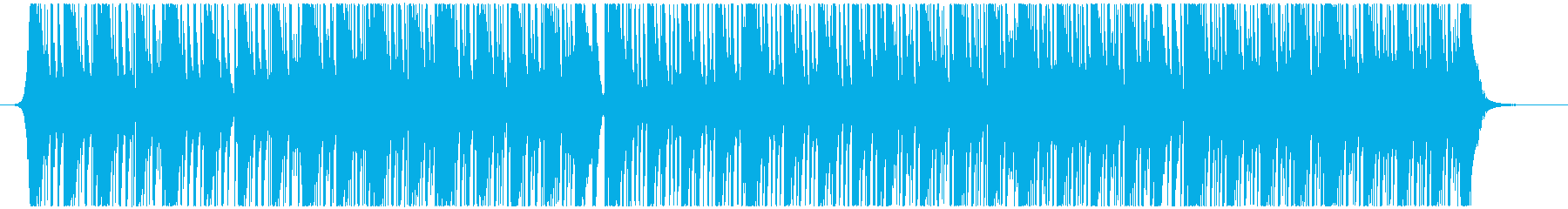 Percussion Musicの再生済みの波形