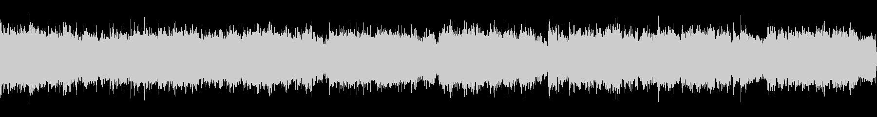 和風、琴、太鼓、幻想的なCMの未再生の波形
