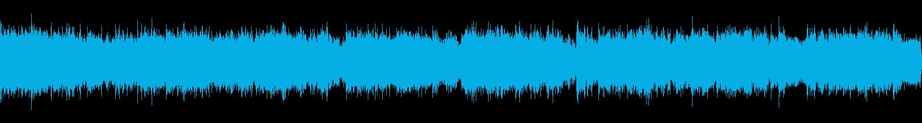 和風、琴、太鼓、幻想的なCMの再生済みの波形