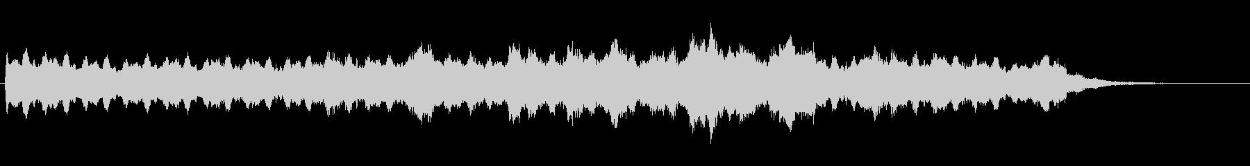 シンセを使ったホラー系BGM(1分+α)の未再生の波形