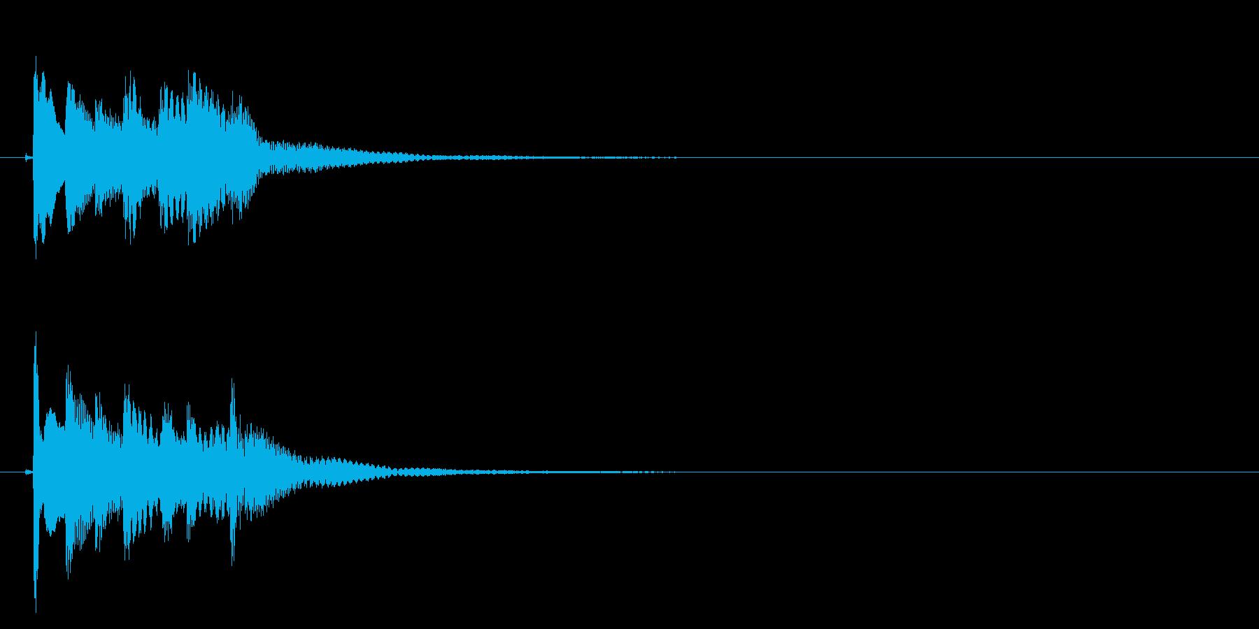 琴のフレーズ2☆調律1の再生済みの波形