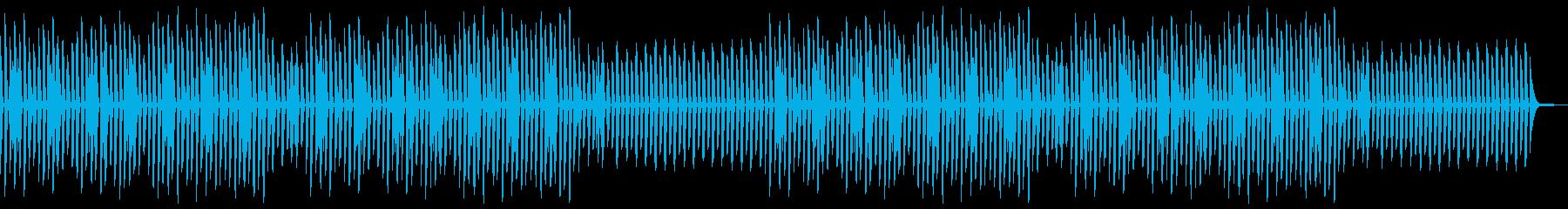 YouTube・かわいい・ほのぼのピアノの再生済みの波形