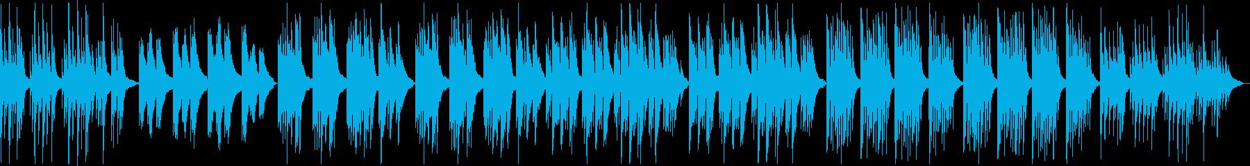 青春感じるノスタルジックな切ないピアノ曲の再生済みの波形