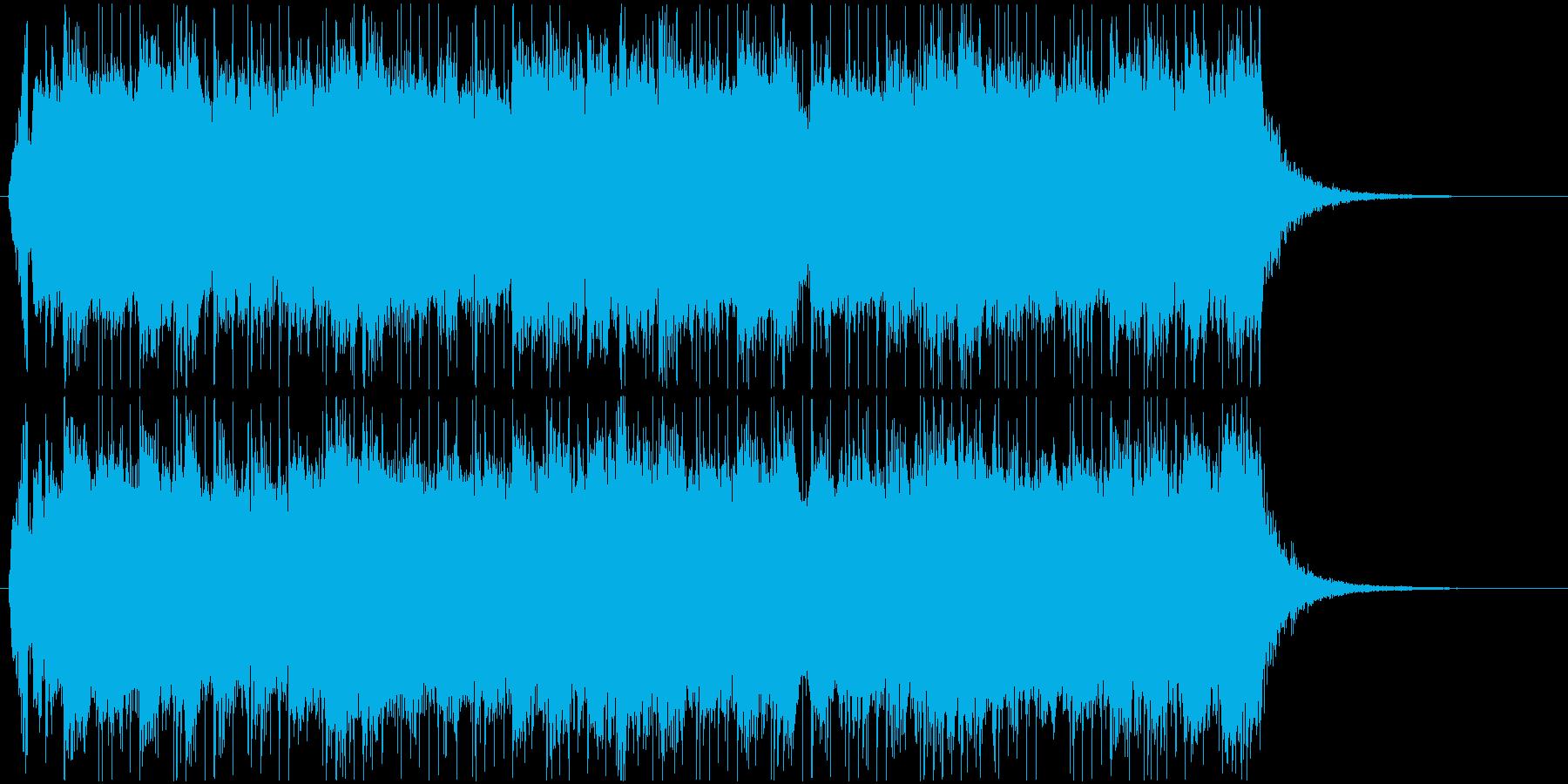 B'zのGt松本孝弘氏へ捧げた曲CM版の再生済みの波形