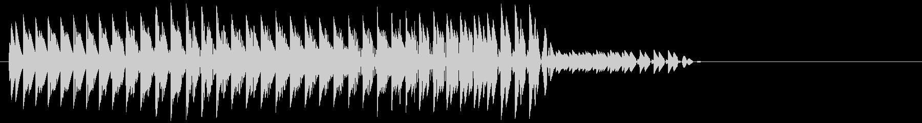 ビヨン(エラー音、アラート音、ミス)の未再生の波形
