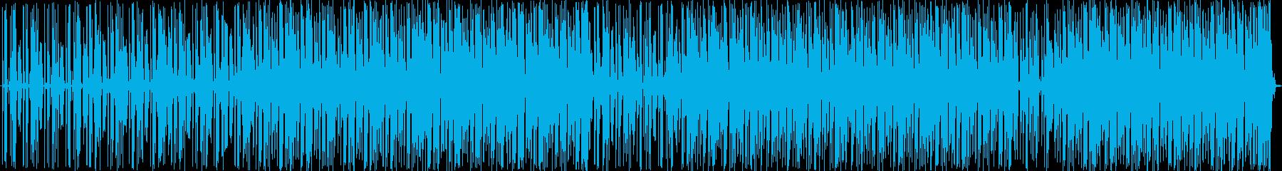 電気楽器。ロボット機械式パルス溝。...の再生済みの波形