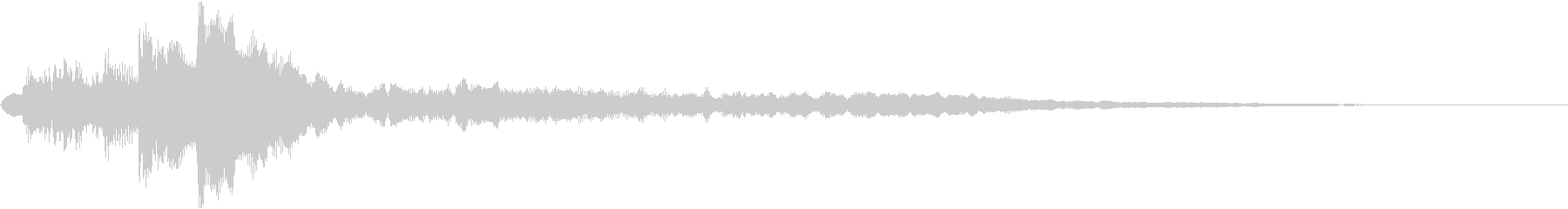 ローファイ・ドキュメンタル風ピアノeの未再生の波形