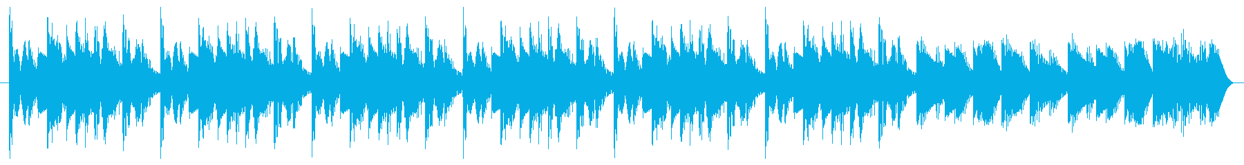 Tiktok に! 15秒の再生済みの波形
