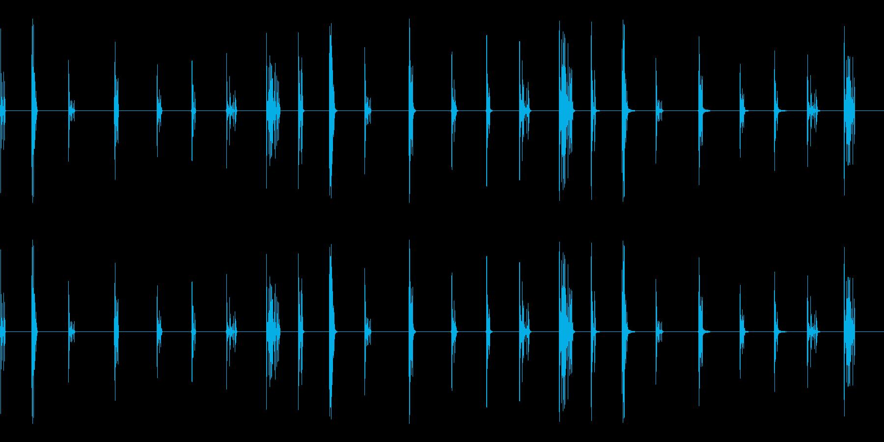 クリスタル、クリスタルブレイクの再生済みの波形