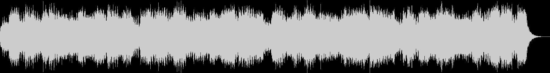 朝を知らせる444Hz音楽の未再生の波形