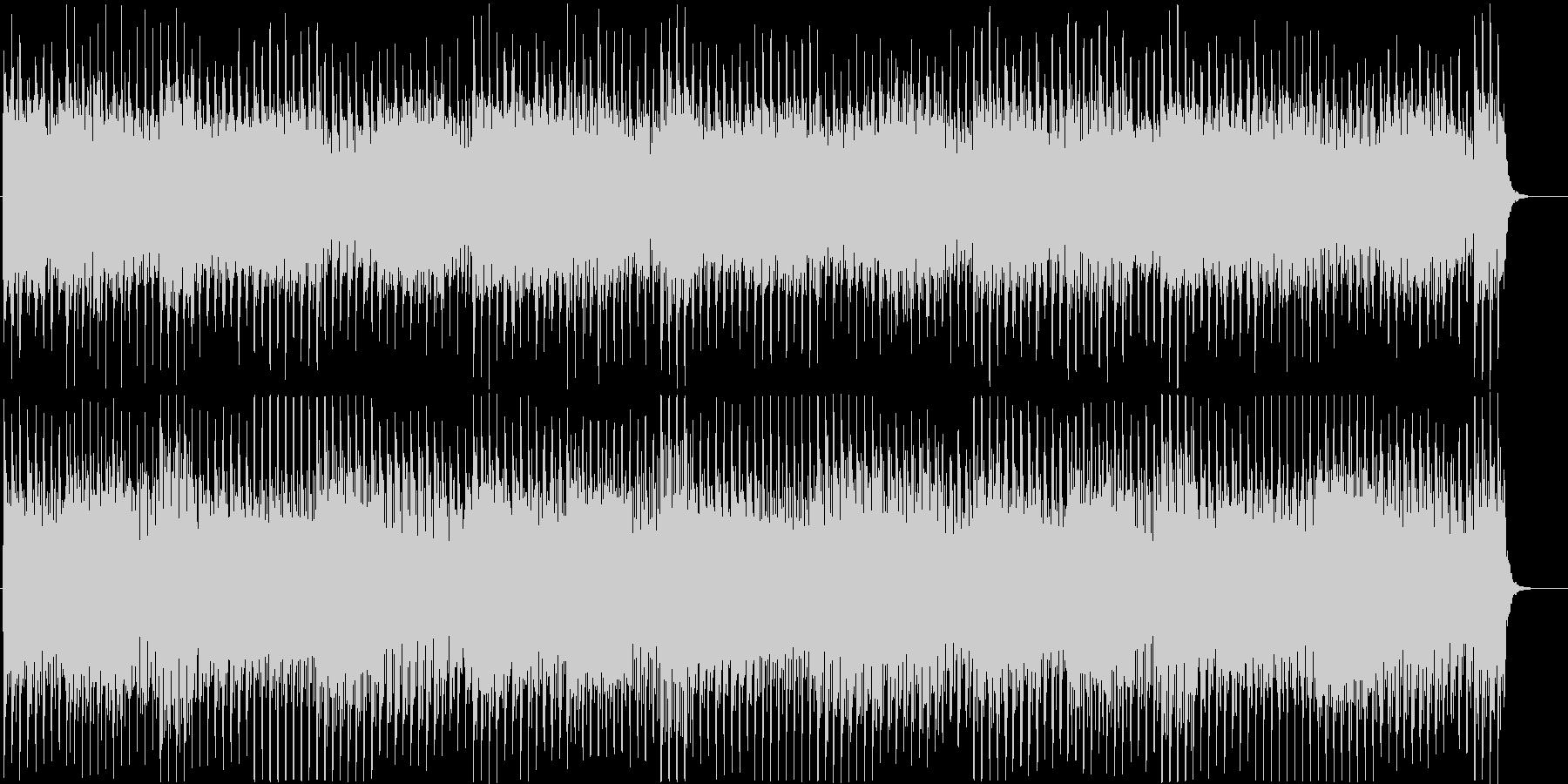 ストリングスによるミニマルなBGMの未再生の波形