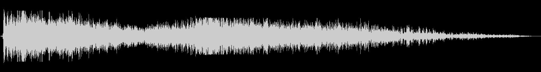 爆発;複数01の未再生の波形
