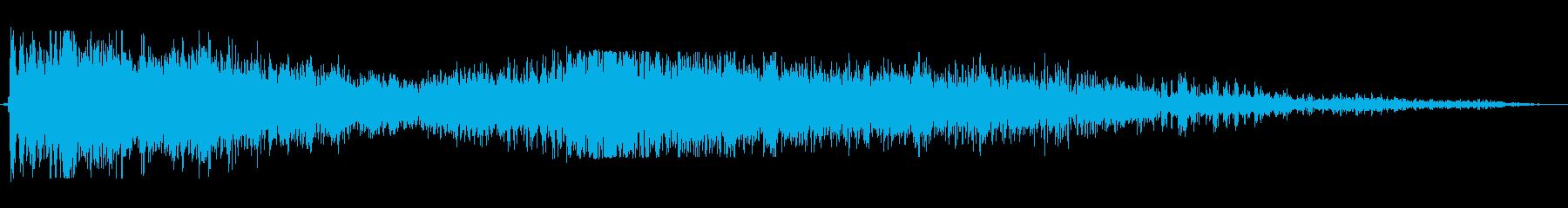 爆発;複数01の再生済みの波形