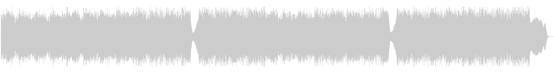 トレモロギターが特徴のダークなエレクトロの未再生の波形