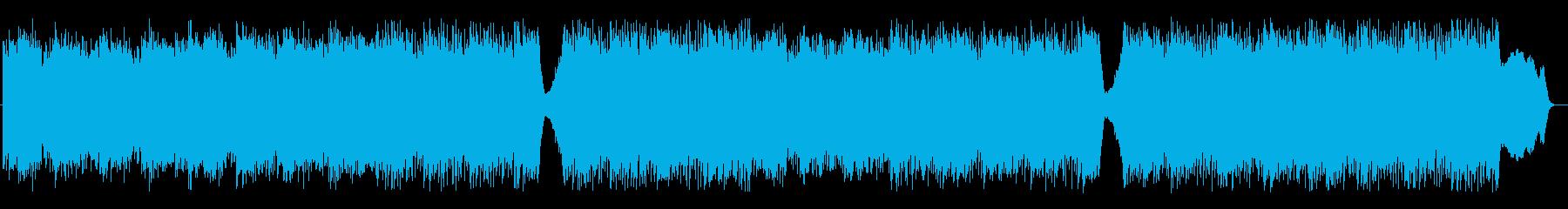トレモロギターが特徴のダークなエレクトロの再生済みの波形