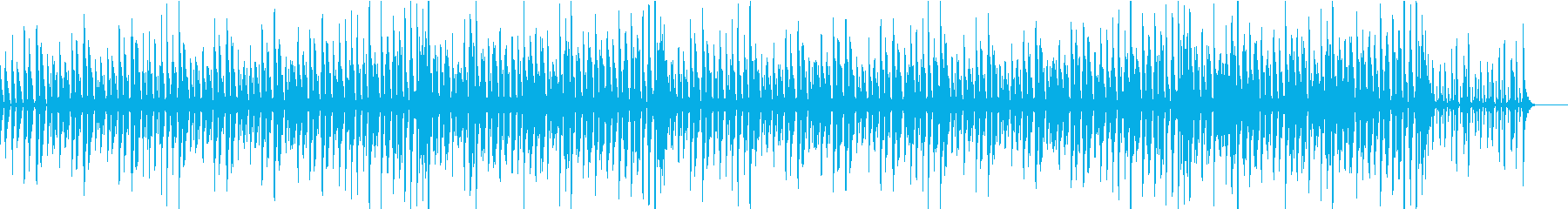 陽気でリズミカルなジャズの再生済みの波形