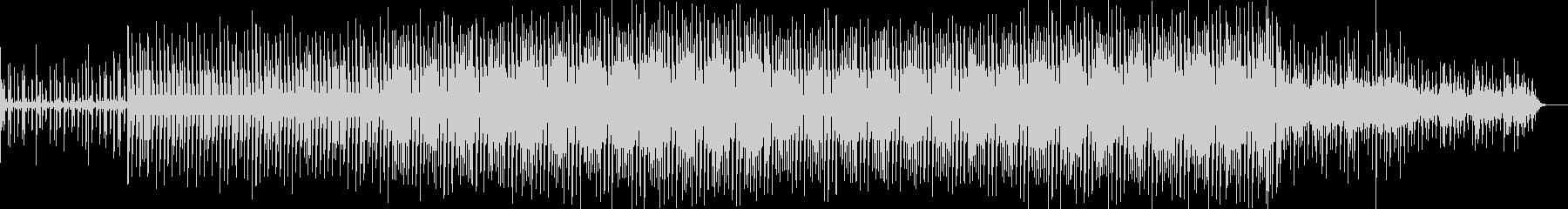 木琴のフレーズが不思議なリズミックBGMの未再生の波形