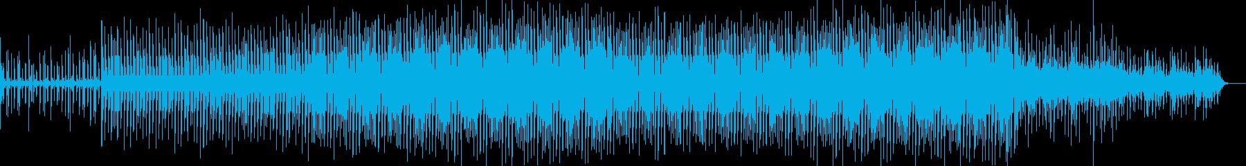 木琴のフレーズが不思議なリズミックBGMの再生済みの波形
