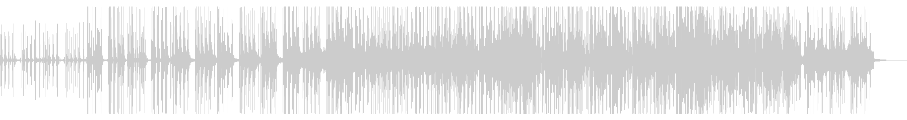 テクノ・エレクトロ・BPM120の未再生の波形