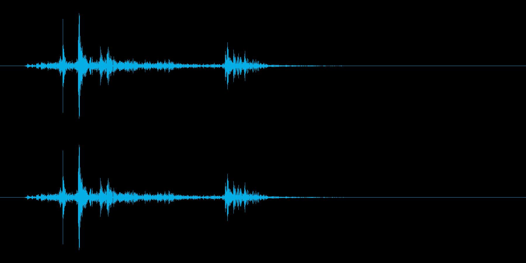 着脱/装備を外す/謎解き/仕掛けを解除 の再生済みの波形