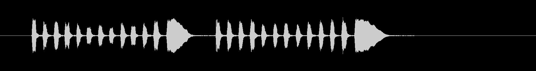 ラッパダブルコール-軍事、ラッパコ...の未再生の波形