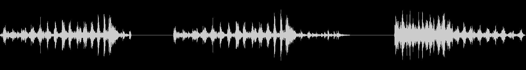 マンホールカバー:ヘビースピニング...の未再生の波形