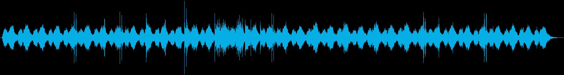 ピアノのリフレインが物悲しいBGMの再生済みの波形