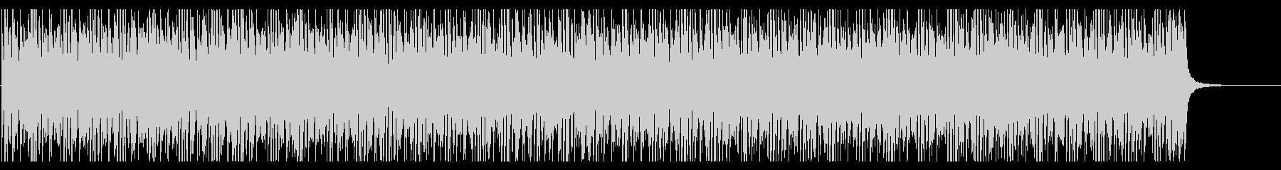 明るくてシンプルな曲調のエレクトロニックの未再生の波形