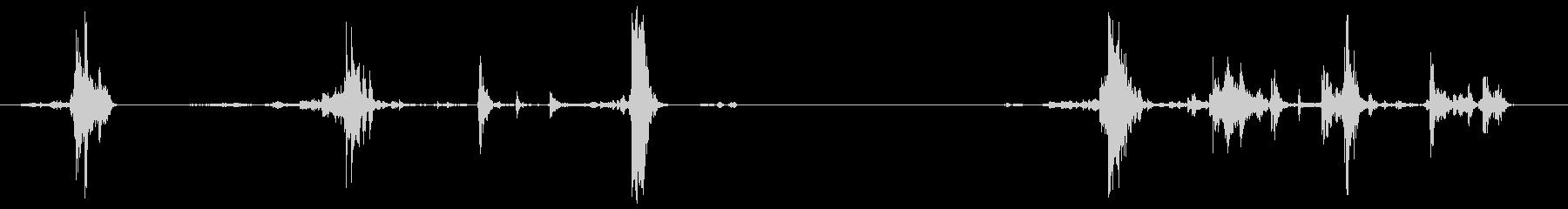 ラージゴールドコインポーチ:シェー...の未再生の波形