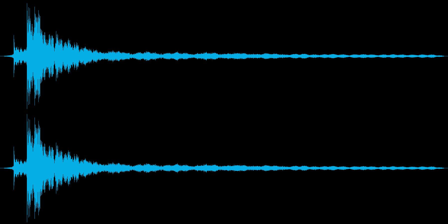 シャンシャンの再生済みの波形