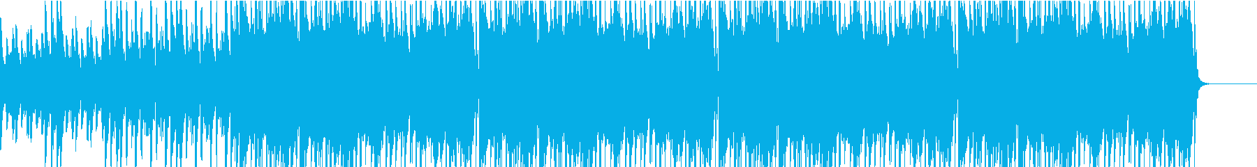 アラビアンナイトの民族ダンスBGMの再生済みの波形