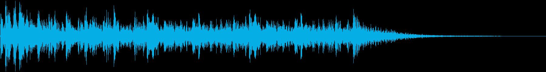 ティンパニロールの再生済みの波形